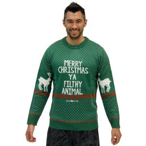 Merry-Christmas-Ya-Filty-Animal-Green-Ugly-Sweater